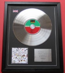 LED ZEPPELIN - Led Zeppelin III CD / PLATINUM PRESENTATION DISC